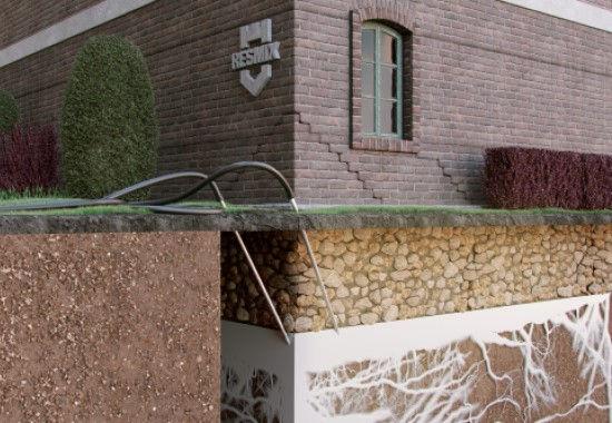 Инъектирование грунта для его стабилизации и укрепления