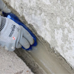 Что такое выкружка из цементного раствора керамзит залить бетоном
