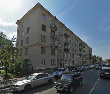 Жилой дом. Кирочная улица, д.59. Санкт-Петербург