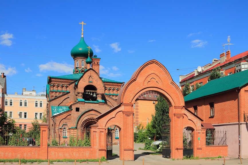 Kazanskaja staroobrjadcheskaja cerkov' Ikony Bozhiej Materi